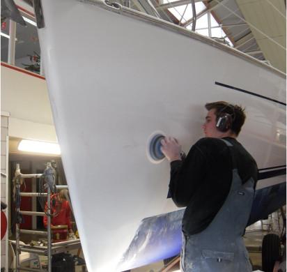 Polyester repairs